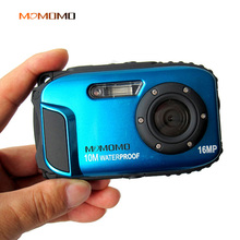 MOMOMO Digital Camera Max 16 Mega pixels with 2.7inch Screen Underwater Waterproof Camera with 8xZoom