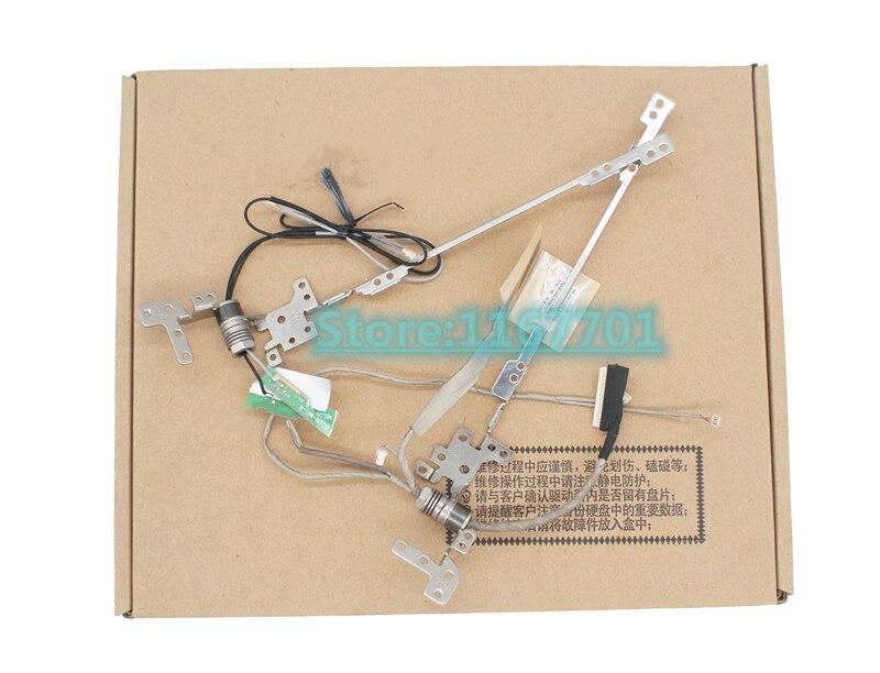 Ordinateur portable/ordinateur portable LCD/LED/LVDS axe/charnières/boucles avec wifi lcd câble pour Lenovo IdeaPad Flex 10 1109-00824 1109-00826 1109-00803