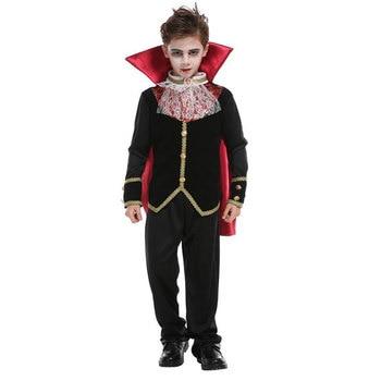 Scary Gothic Boys Vampire Dracula Halloween Costume