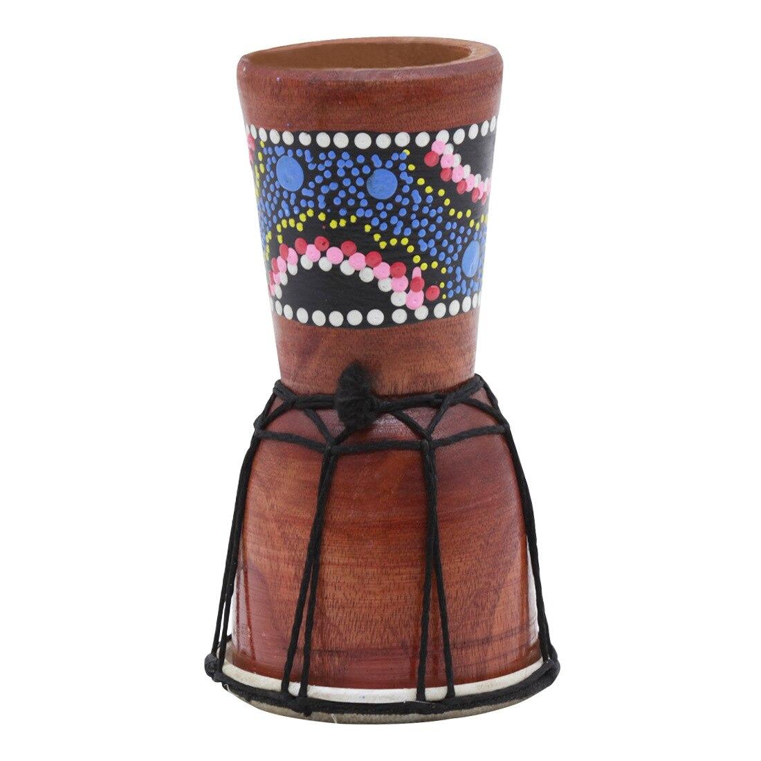 100% Wahr Wott Irin 1 Pc 4 Zoll Professionelle Djembe Afrikanische Trommel Bongo Holz Gute Sound Von Musical Instrument Seien Sie Im Design Neu