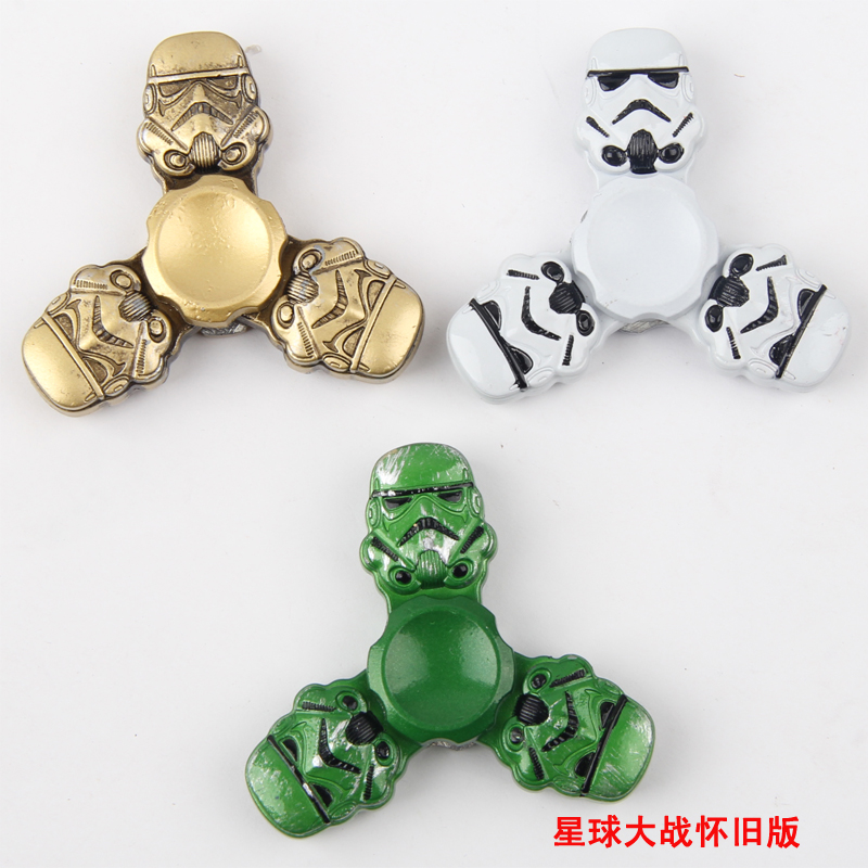 Star Wars Fid Spinners Metal Aluminium Darth Vader Storm Trooper