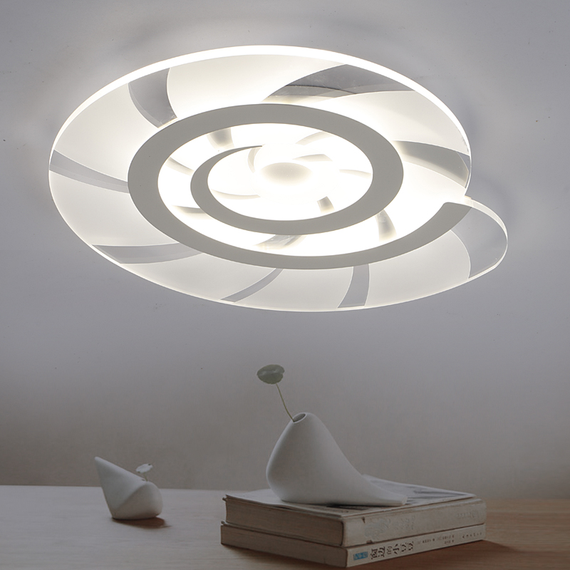 US $21.0 20% OFF|Children bedroom Lights lamparas de techo abajur Acrylic  Conch Ceiling lamp for boys and girls room Creatice babyroom Lights-in ...