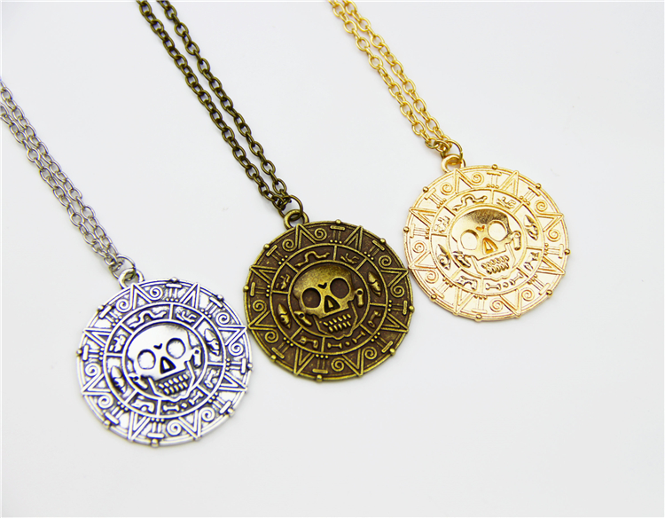 ZRM Hot Pirates Of The Caribbean Necklace Jack Sparrow ...