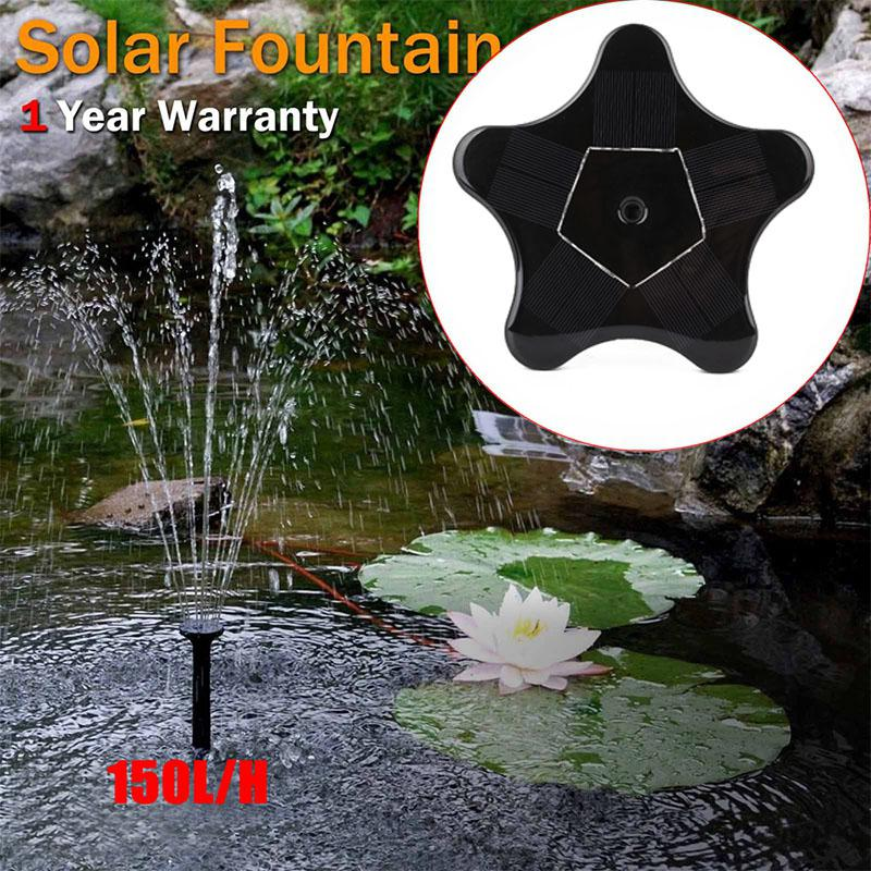 Lights & Lighting Lumiparty 1.4w 7v Solar Powered Water Pump Fountain Ip68 Waterproof Outdoor Garden Pool Portable Water Pump Fountain Kit Pure And Mild Flavor