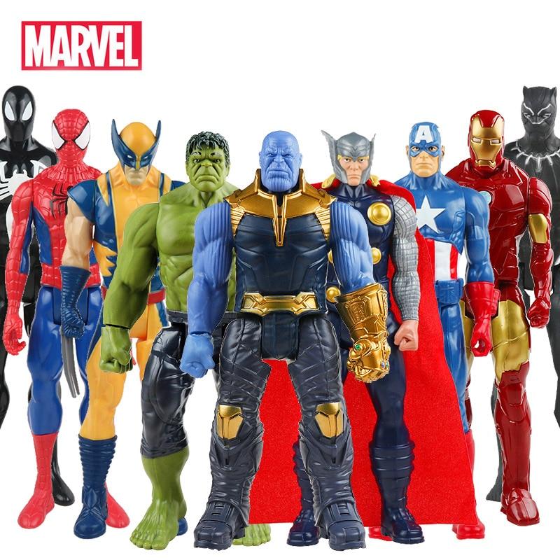 30cm-marvel-font-b-avengers-b-font-thanos-venom-spiderman-hulk-buster-iron-man-captain-america-thor-wolverine-action-figure-toys-for-boy-gift