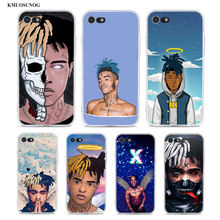Transparent Silikon Abdeckung XXXTENTACION Rap Hüfte für iPhone 11 11Pro XS MAX XR X 8 7 6S 6 Plus 5S Telefon Fall(China)
