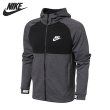Original New Arrival 2017 NIKE NSW AV15 HOODIE FZ FLC Men's Jacket Hooded  Sportswear недорого