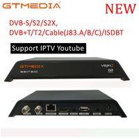dvb digital DVB-T2 כונס אות של טלוויזיה לגמרי עבור DVB-T Digital Terrestrial DVB T2 / H.264 DVB T2 טיימר עומדי Dolby PVR V8 2 Pro (1)