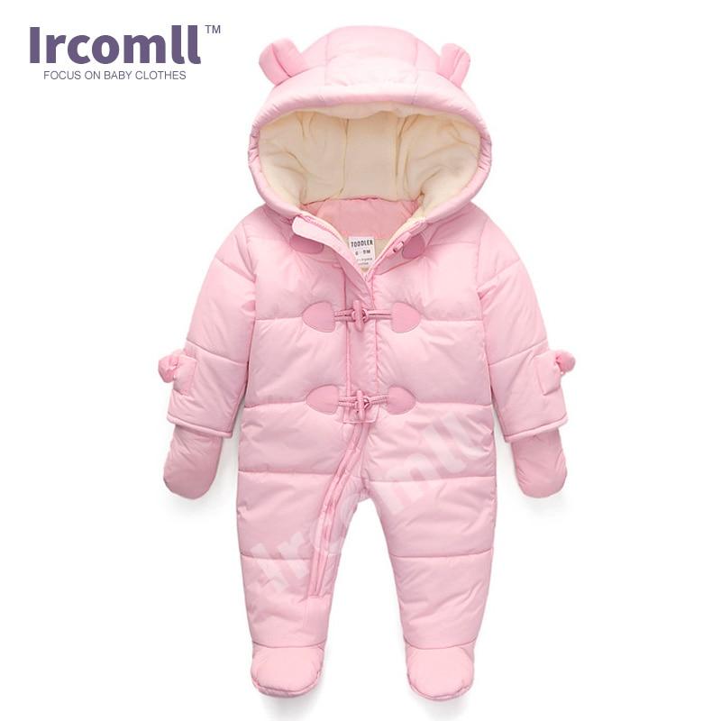 Lrcoml Keep Thick Warm Infant Baby Rompecabezas Ropa de invierno - Ropa de bebé - foto 4