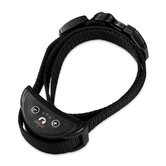 PaiPaitek PD258  Pet Dog Training Collar  With 7 Levels  Anti Bark Dog Collar Electric Shock Adjustable Nylo Dog Trainer