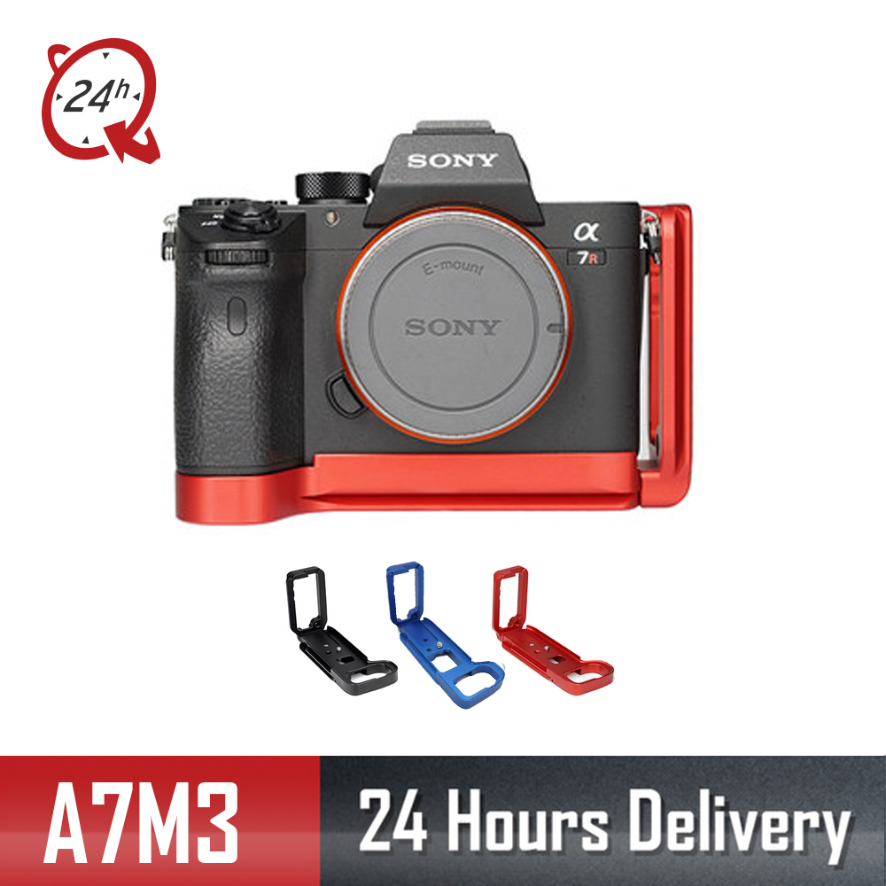 DLSR L Type Mounting Plate Bracket for Sony A7M3 A7R3 A9 A7III Quick Release Baseplateside for