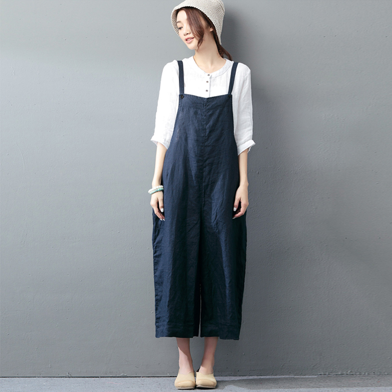 New ZANZEA Women Summer Strappy Loose Wide Leg Pants Rompers Jumpsuits Casual Bib Overalls Solid Sleeveless Dungarees Plus Size