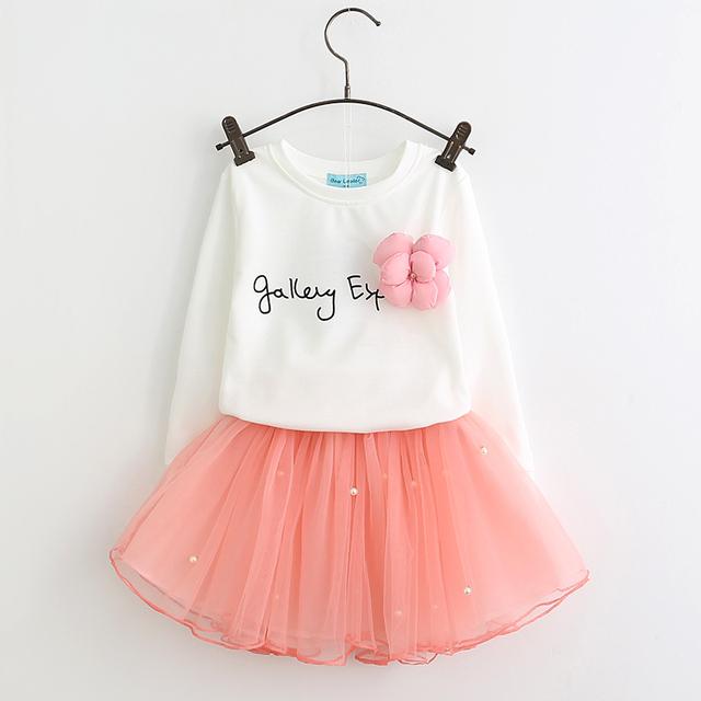 Girl Mesh Dress 2019 New Spring Dresses