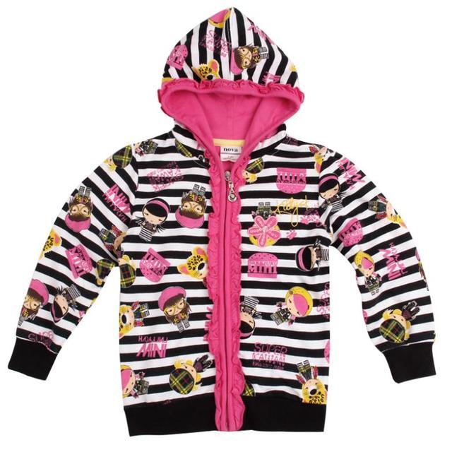 Черный белый дети толстовки детская одежда куртки новый год Кофты для девочек-подростков детские спортивные костюмы дети одежда из хлопка