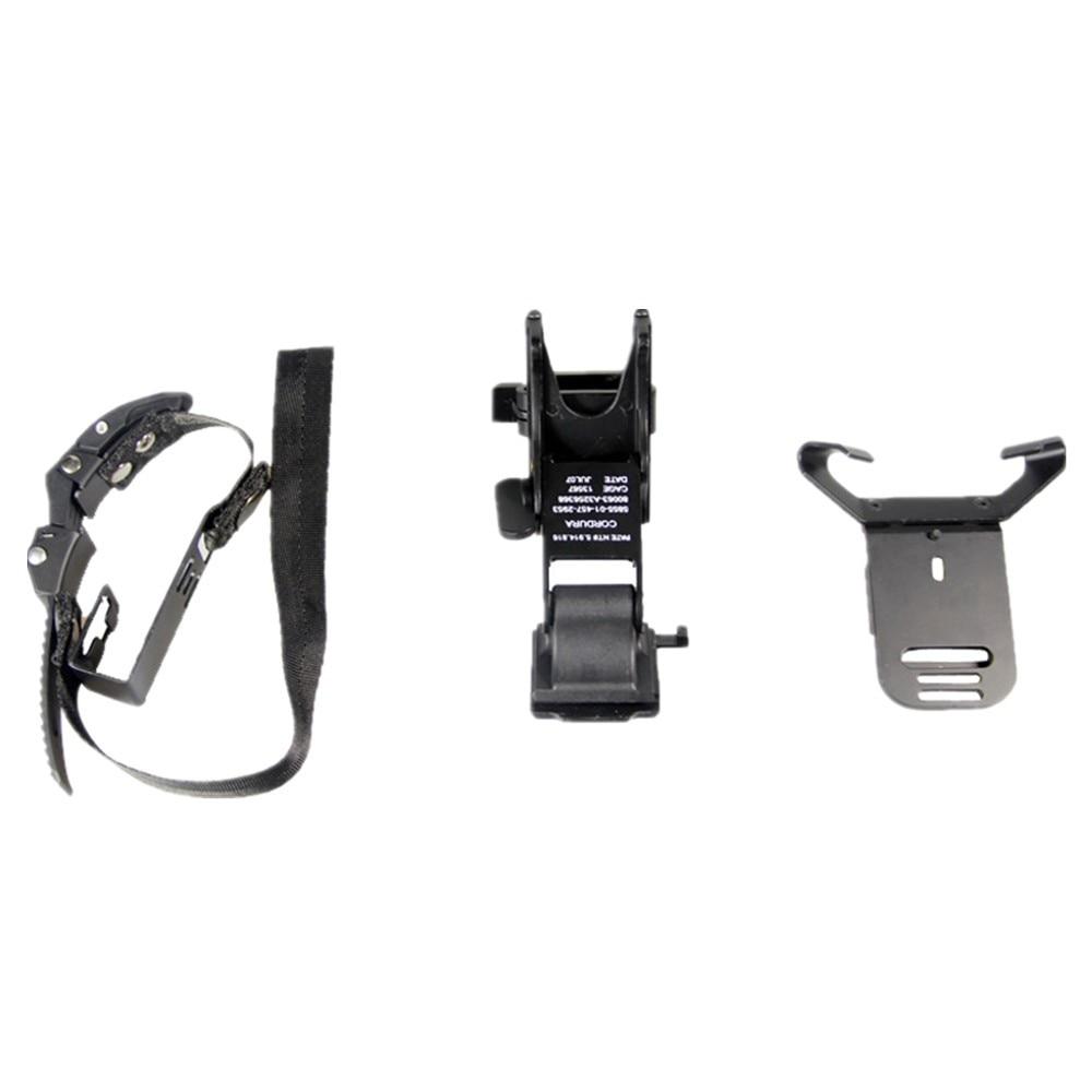 NVG PVS-7 14 Night Vision Goggle Mount Kit For PASGT Helmet M88 Helmet BK