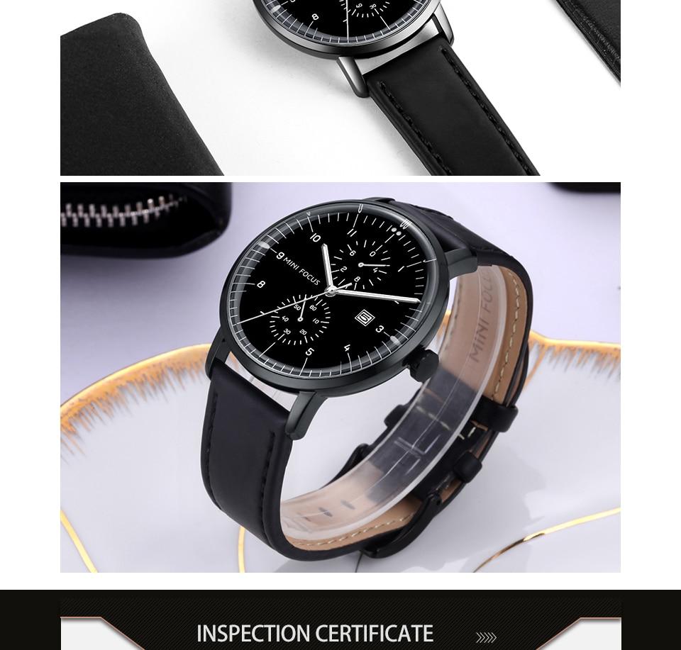 HTB1oQ LjpuWBuNjSszbq6AS7FXas MINI FOCUS Mens Watches Top Brand Luxury Quartz Watch Men Calendar Bussiness Leather relogio masculino Waterproof reloj hombre
