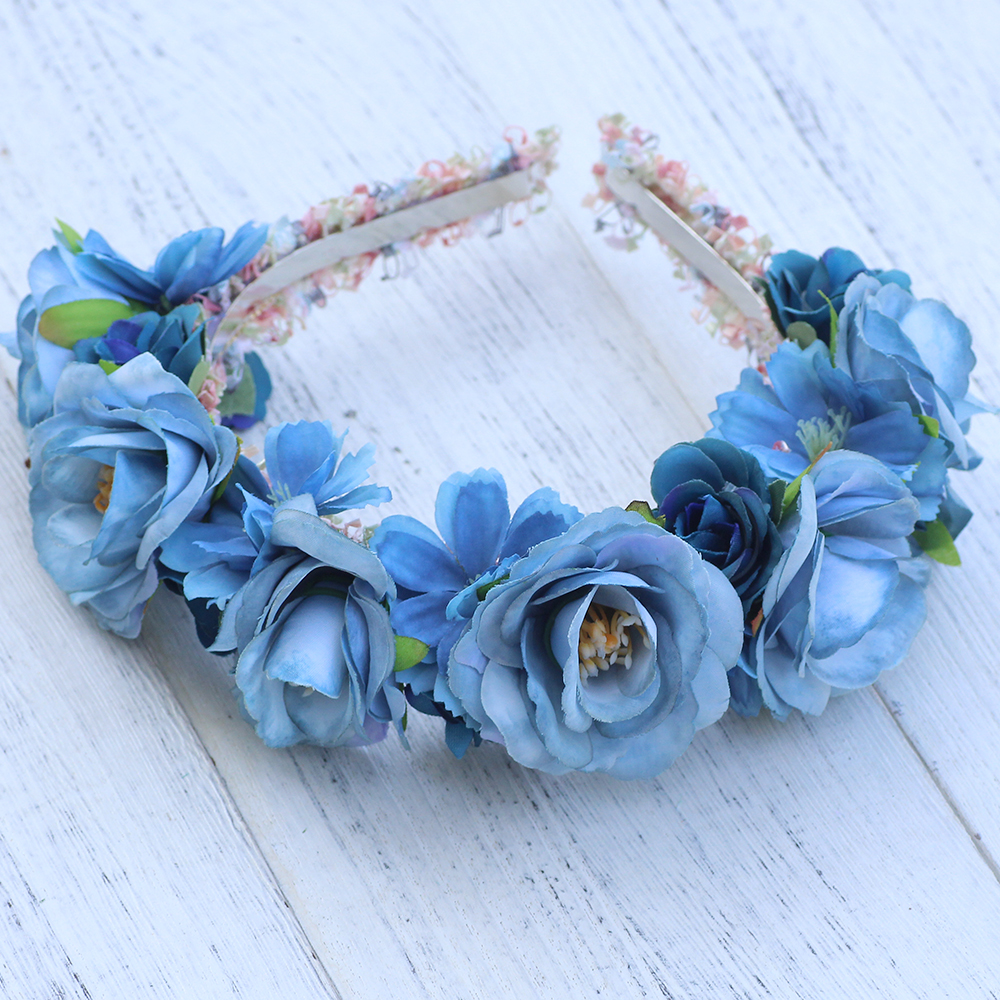 Wildflower crown flowers headband a hair band for girls head wear wildflower crown flowers headband a hair band for girls head wear women hairbands floral headbands hair accessories in hair accessories from womens izmirmasajfo