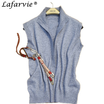 Lafarvie Fashion Cashmere Blended Sweate...