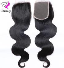 Brazilian Body Wave Closure 7A Unprocessed Virgin Hair Cheap Human Hair Weave Closure Free Part Lace Closure free shipping