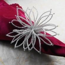 Кольцо-цветок для салфетки, держатель для салфеток оптом