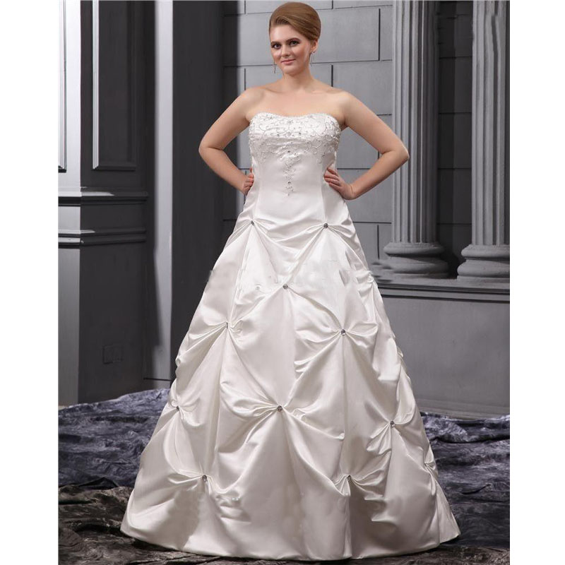 Wedding dresses for fat people fuck my jeans for Best wedding dresses for short fat brides