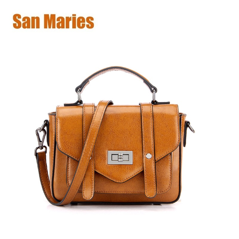 San Maries Bags for Women Luxury Handbag Female Brand Designer Shoulder Bag Casual Shopping Tote Cow Leather Handbags Solid BagSan Maries Bags for Women Luxury Handbag Female Brand Designer Shoulder Bag Casual Shopping Tote Cow Leather Handbags Solid Bag