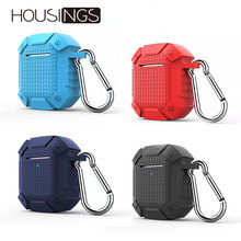 Shockproof Soft Silicone Headset Cases For Apple Airpods Waterproof  Bluetooth Earphone Accessories Protective Cover
