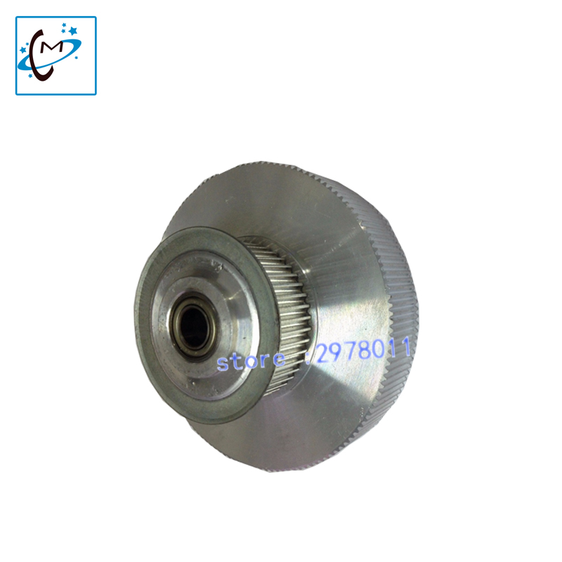 Top quality!!Inkjet Printer spare parts Mimaki motor pulley for JV33 JV5 Tower pully mimaki jv33 driving pulley on selling brand new dx5 printhead driver board for inkjet printer galaxy 1802 slovent printer spare parts