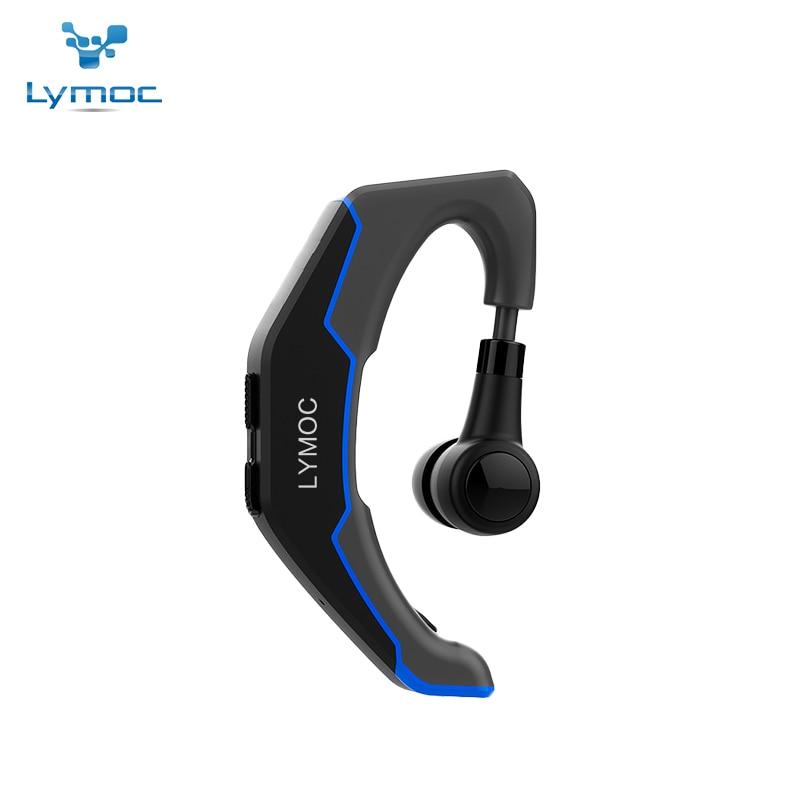 LYMOC Q3 Upgrade Bluetooth Headsets Car Sport Wireless Earphone HD MIC Handsfree Phone Headphone Ride Motorcycle Bike For IPhone