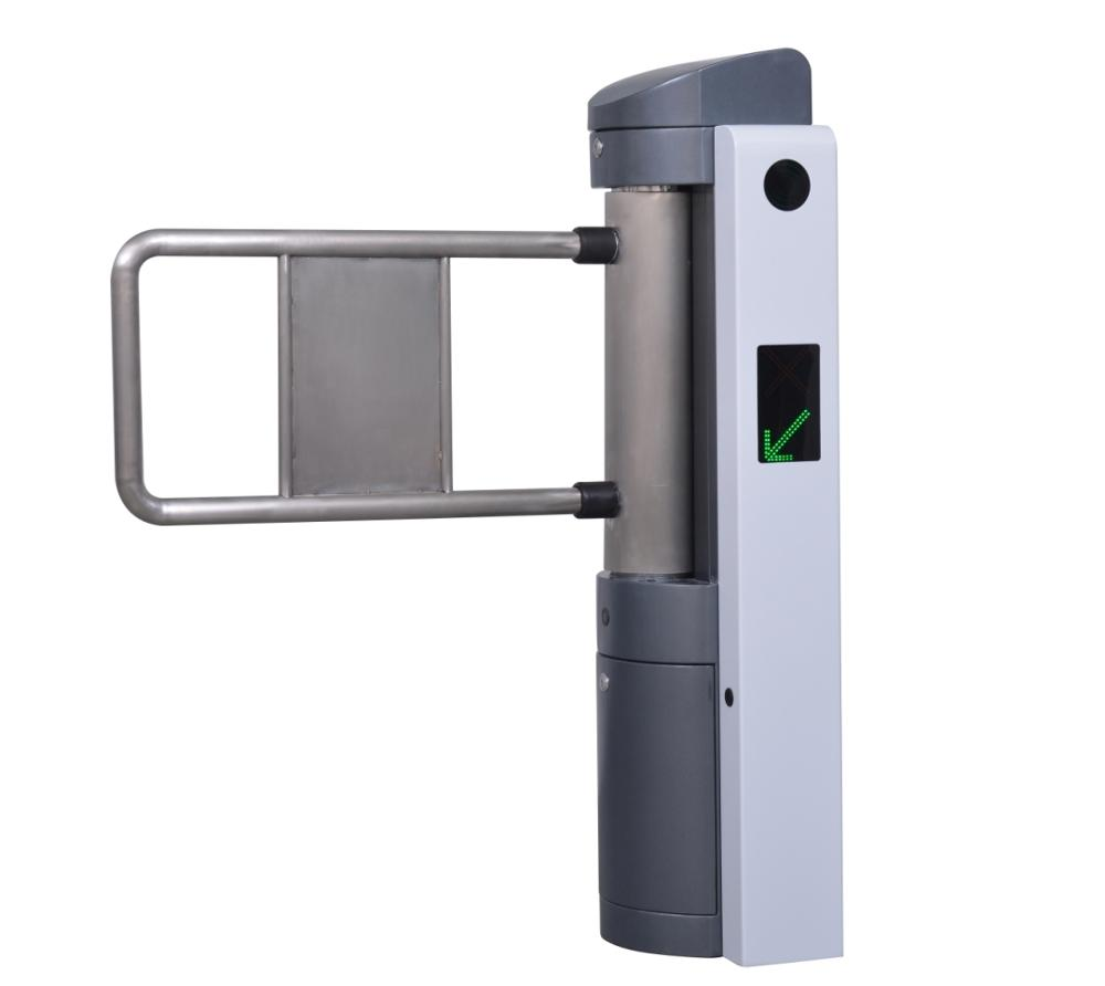 RFID access control swing gate turnstile for outdoor access gate mechanical tripod turnstile gate for access control mechanism push turnstile gate