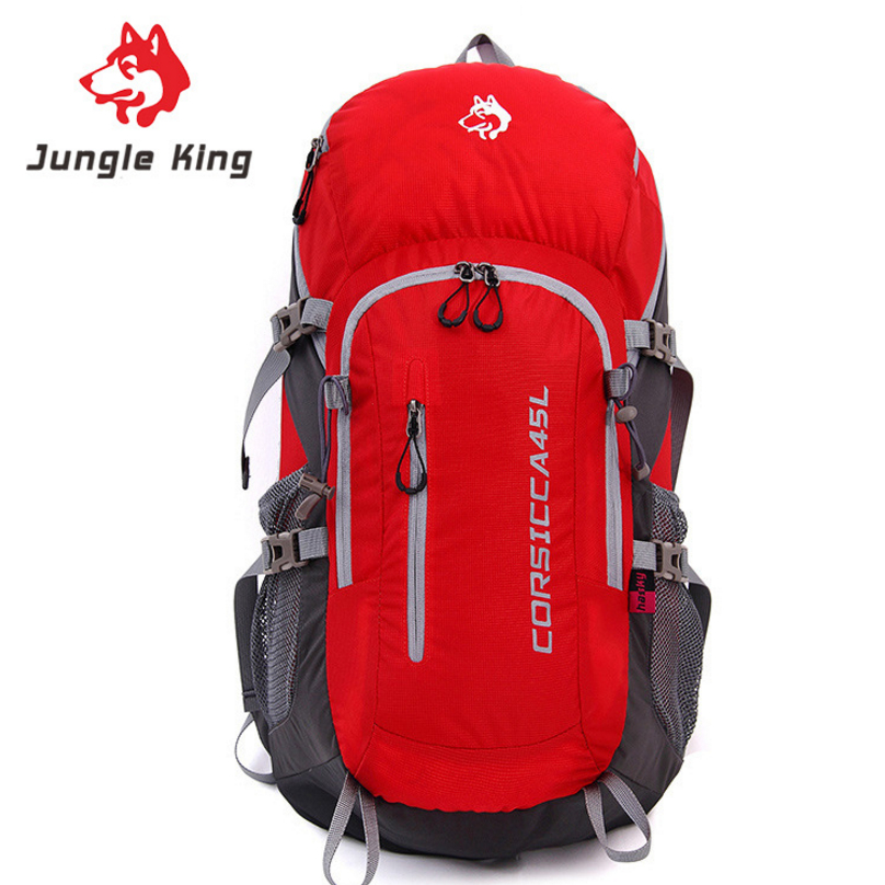 JUNGLE KING Professional outdoor mountaineering bag Shoulder backpack camping backpack hike hiking bag for man and woman 45L camel mountain 45l backpack page 7