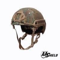 AA баллистический щит ACH с высокой Тактический шлем Пуленепробиваемый Body Armor арамидных Core шлем защитный шлем NIJ IIIA 3A MC