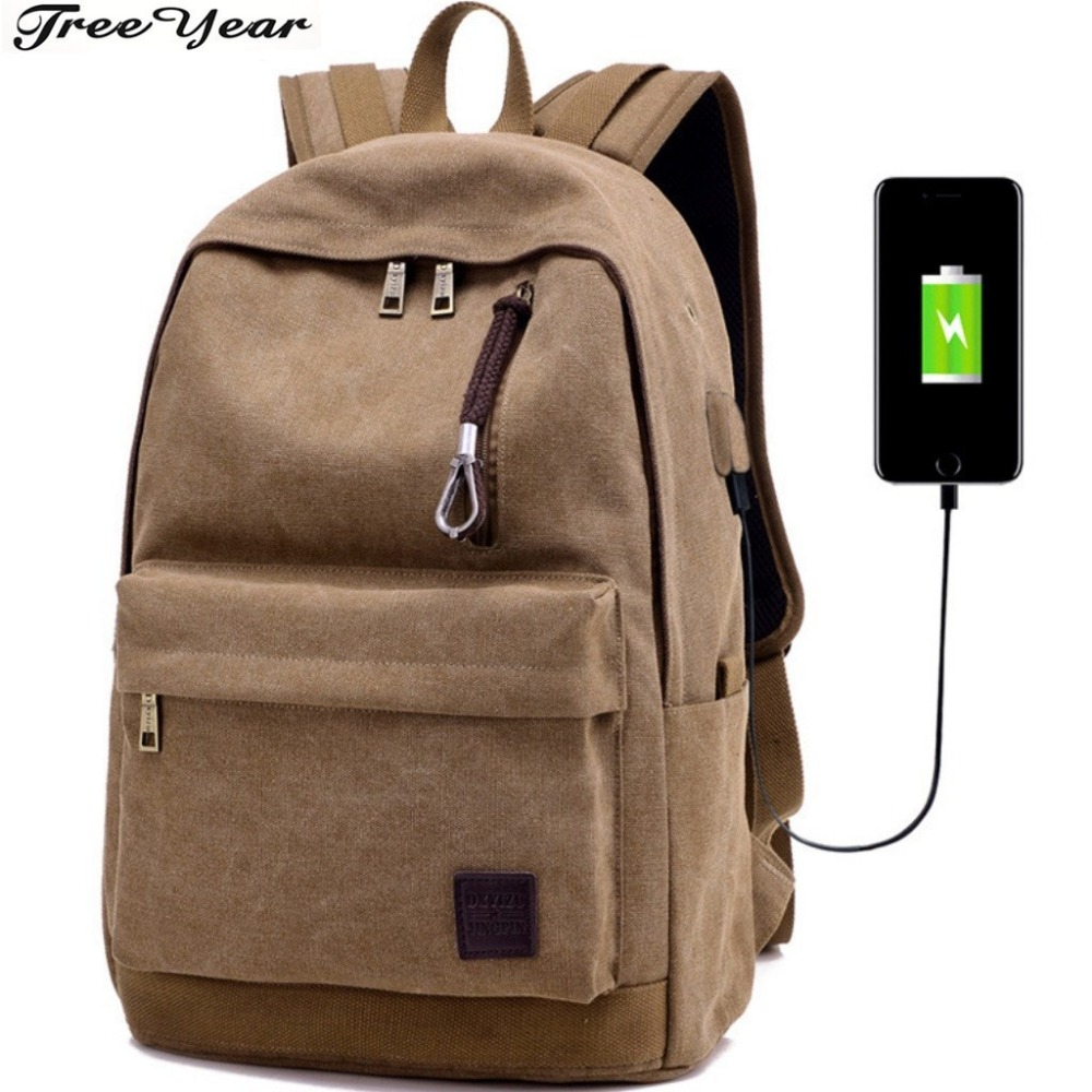 2018 College Student Book Bag New Arrivals USB Large Capacity Student Backpack 14-15.6 i ...