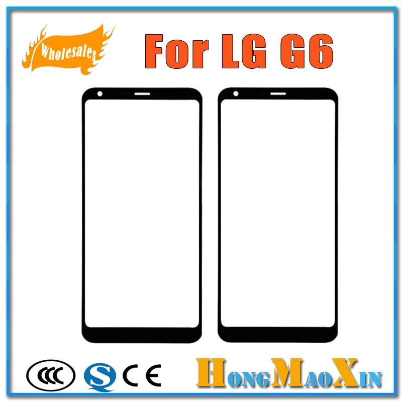 Heißer Verkauf Beste Qualität Äußere Frontglas Objektiv Für LG G6 H870 H870DS H871 H873 LS993 LCD Display Touchscreen Ersatzteile