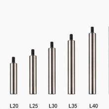 9cs, Диаметр 5 мм, M2.5 закаленной расширение шатун для Стрелочный Индикатор Универсальный зонд головка удлинительная длинный бар зонд