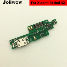 hot deal buy joliwow 1pcs for xiaomi redmi 4x usb flex cable port charger connector dock plug board component replacement parts for redmi 4x