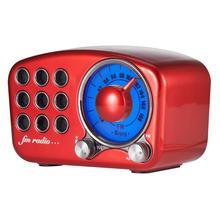 REDAMIGO 디지털 FM 라디오 fm 블루투스 스피커 미니 linternet 라디오 휴대용 fm 라디오 TF 카드 스피커 RADR919