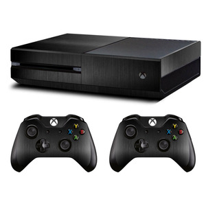 Image 4 - Metal Brushed Skin Sticker Decal For Microsoft Xbox One Console and Kinect and 2 Controllers For Xbox One Skin Sticker Vinyl