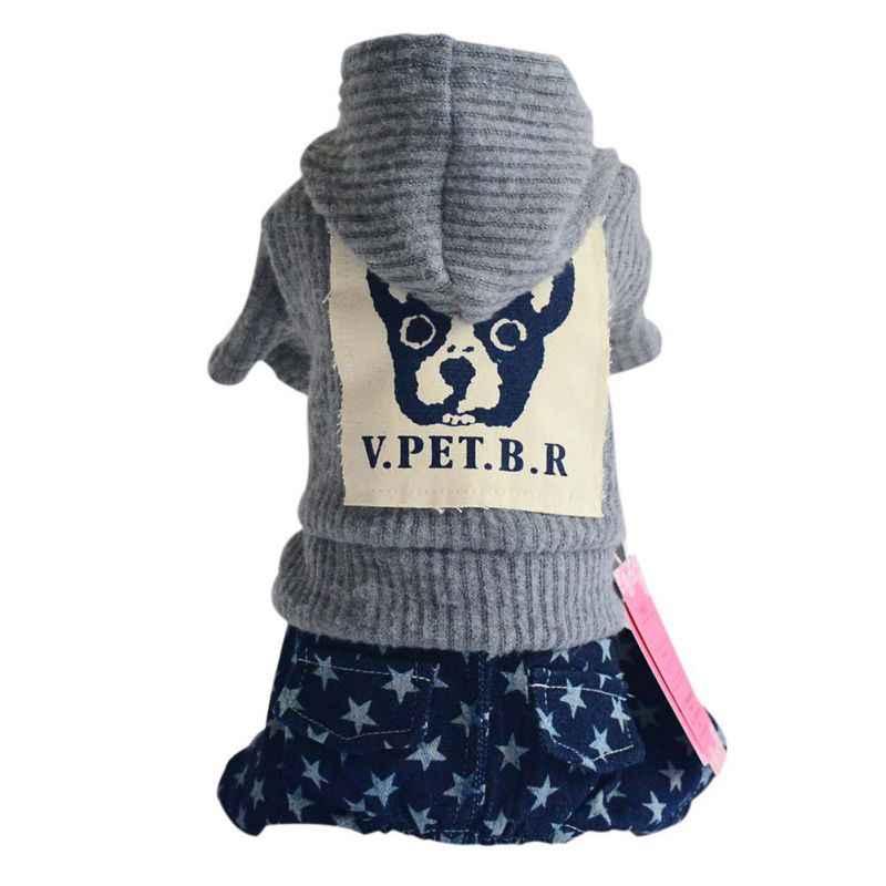 Теплые свитера для собак маленький наряд Чихуахуа жакеты для собак Одежда для домашних животных куртка зимняя одежда для кошек мягкая для щенка