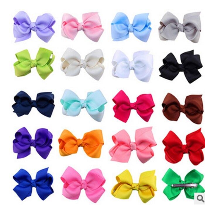 6pcs/lot Rainbow Color Headband Hair Band Crystal Long Elastic Hair Bands For Headwear Cute Girls Random Color Hair Accessories Girls' Baby Clothing
