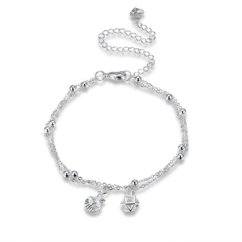 INALIS Best Price New Silver Women Chain Ankle Bracelet