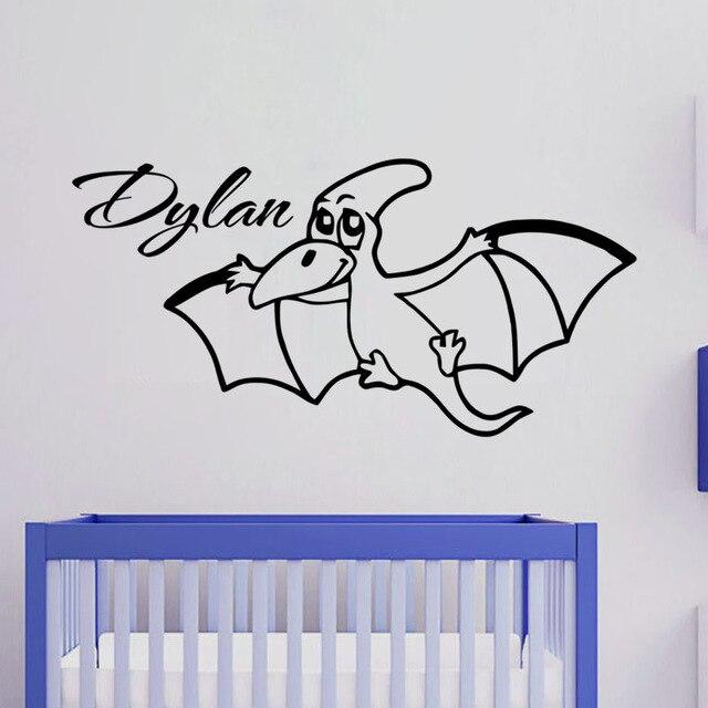 Online Shop Free Shipping Funny Design Baby Dinosaur Vinyl Wall - Custom vinyl wall decals dinosaur