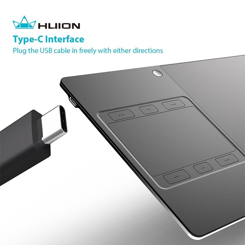 """""""Huion G10T"""" belaidis grafikos braižymo planšetinis kompiuteris - Kompiuterių periferiniai įrenginiai - Nuotrauka 3"""