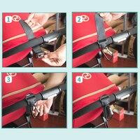 BalleenShiny1pc Kinderwagen Accessoires Multifunctionele Kinderwagen Haak Winkelen Kinderwagen Haak Rekwisieten Hanger Metalen Handige Haak 5
