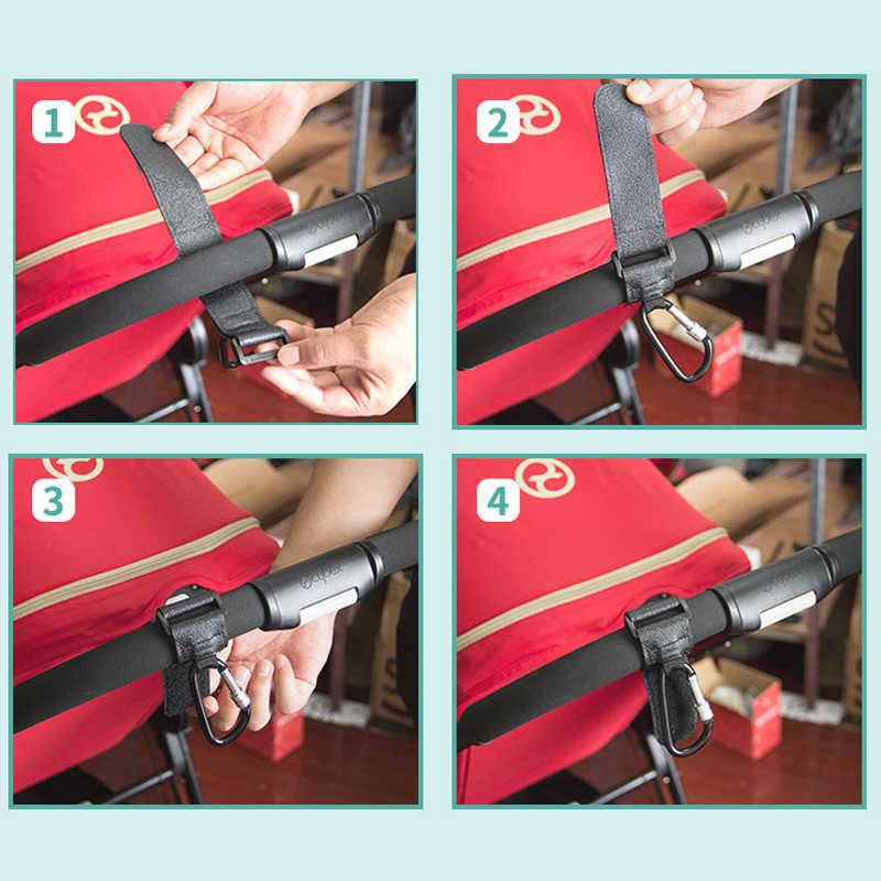 Balleenshiny 1 Pc Kinderwagen Accessoires Multifunctionele Kinderwagen Haak Winkelen Kinderwagen Haak Prop Hanger Metalen Handige Haak