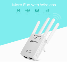 1200Mbps Spina di Parete Router AC1200 Dual Band Wireless Wi Fi AP Wifi Router Ripetitore Extender Booster 2.4/5GHz inglese Firmware