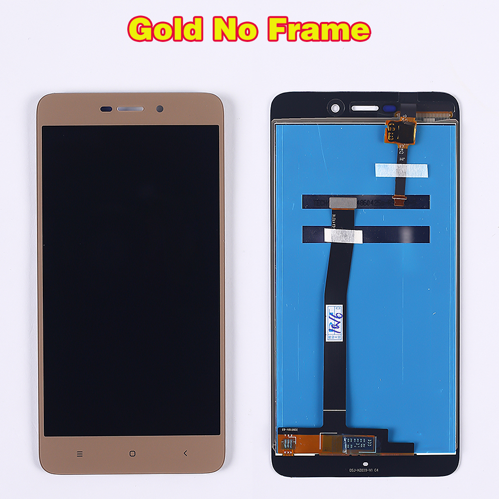 100% Tested LCD display For Xiaomi Redmi 4A 5.0 inch Touch Screen 1280*720 Digitizer Assembly Frame with Free Tempered Glass