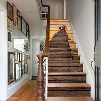 13 Pcs/Set 3D Stair Sticker DIY Steps Sticker Wall Decal Mural Wallpaper Removable Decals for Home Decor Creative Stair Sticker