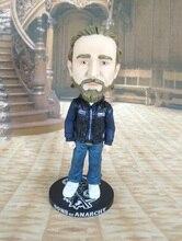 1กล่อง16.5ซม.Sons Anarchy Jax Bobblehead Action Figureตุ๊กตาการ์ตูนPVCของเล่นD10