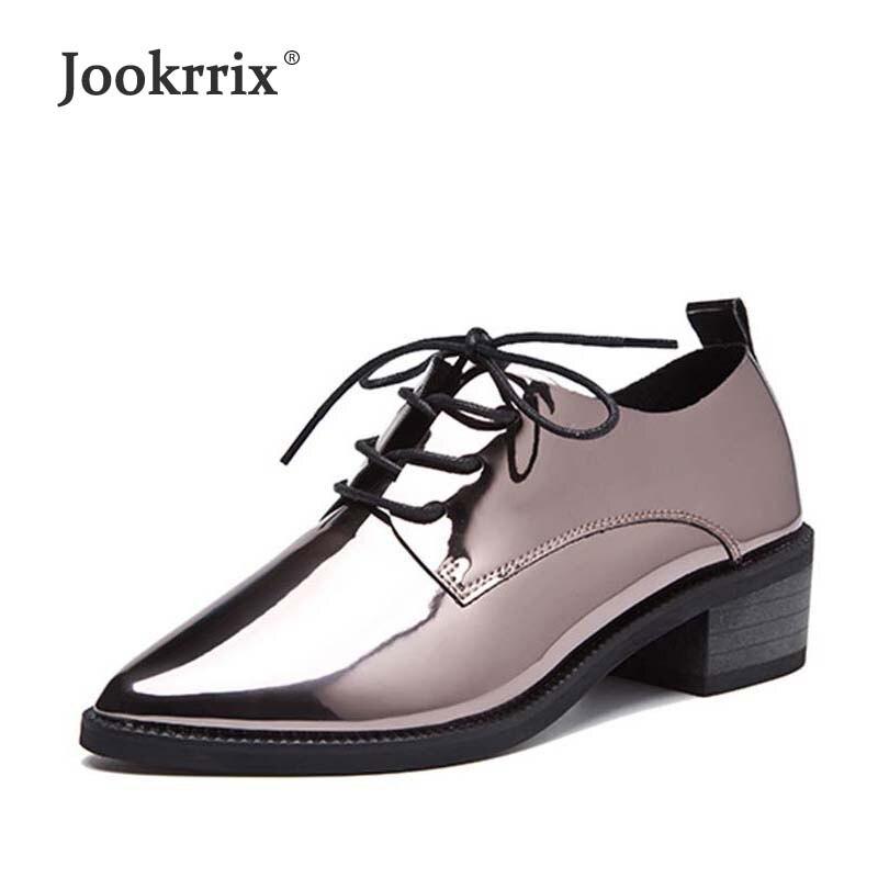 Style Chaussures Color Respirant Cuir Hollow Hollow British Jookrrix En Femmes gun Femme Marque Lady Chaussure Color Black 2018 black attaché Mode Appartements gun Verni Croix 5ZHn7qZwx
